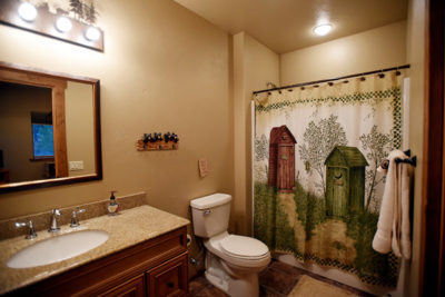 Another Bathroom at the River View Lodge