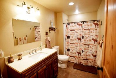 A Bathroom - River View Lodge