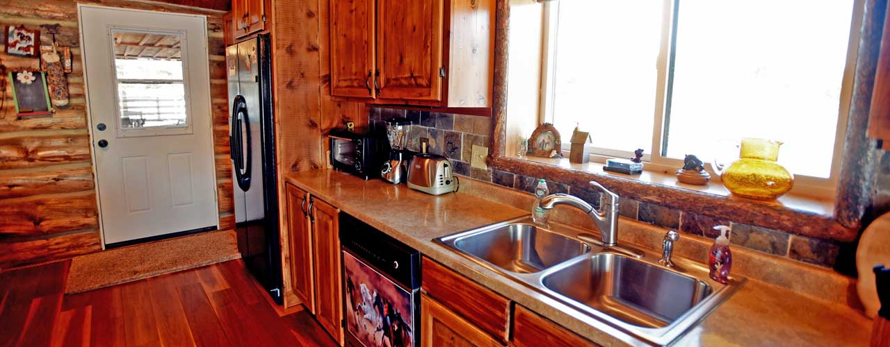 Chisum Lodge in Whitefish Montana Kitchen
