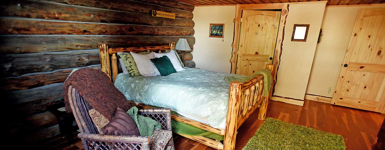 Chisum Lodge in Whitefish Montana Master Bedroom