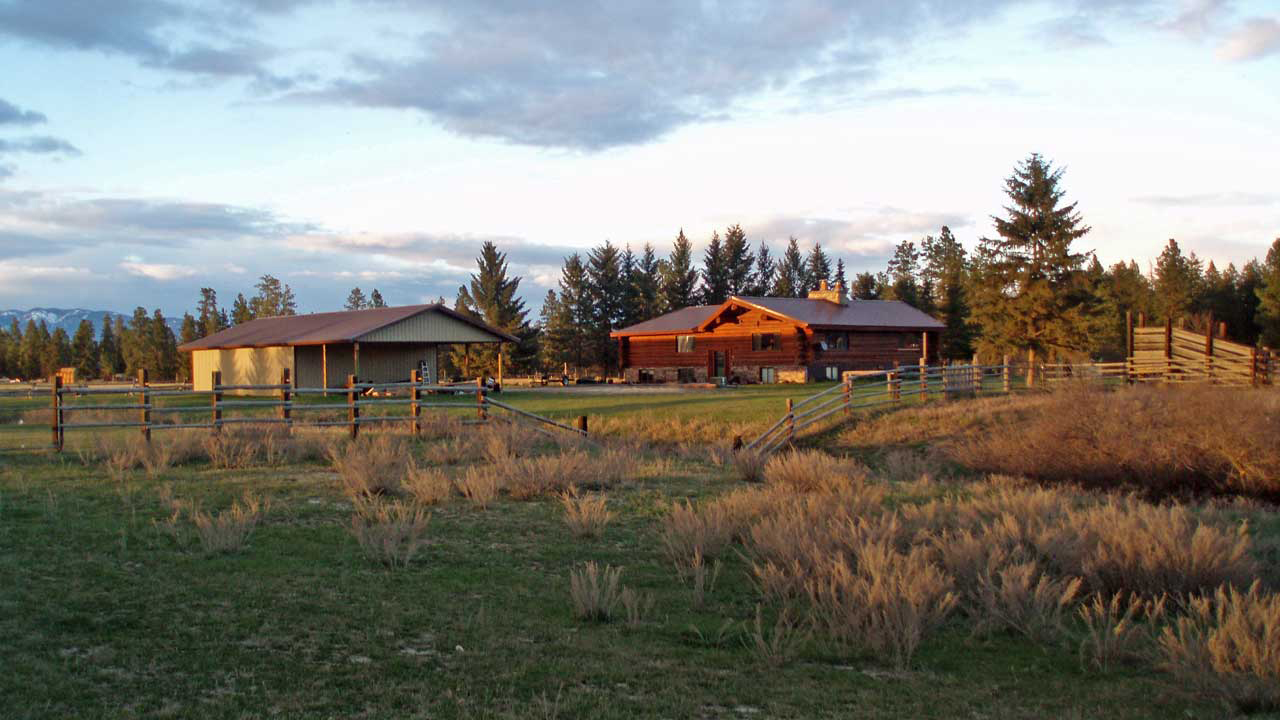 Chisum Lodge at the River Meadow Ranch in Whitefish Montana