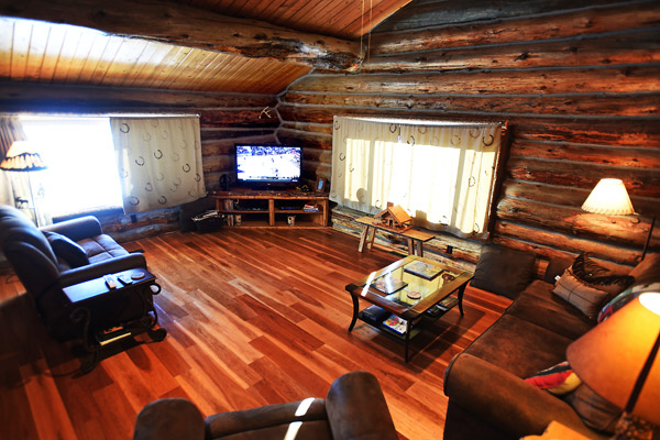 Living Room on the Main Floor