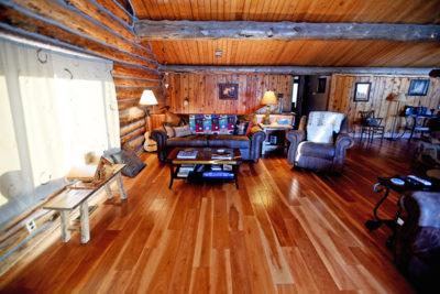 Chisum Lodge Main Floor Living Room