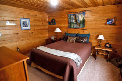 Eagle Bedroom at the Chisum Lodge