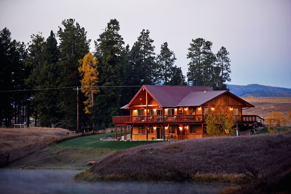 River View Lodge on the Stillwater River in Whitefish Montana