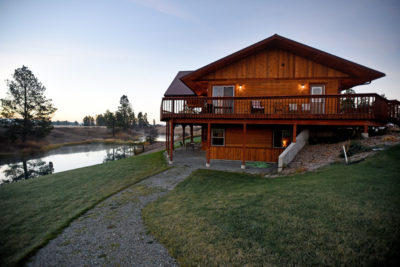 Exterior Shot of River View Lodge