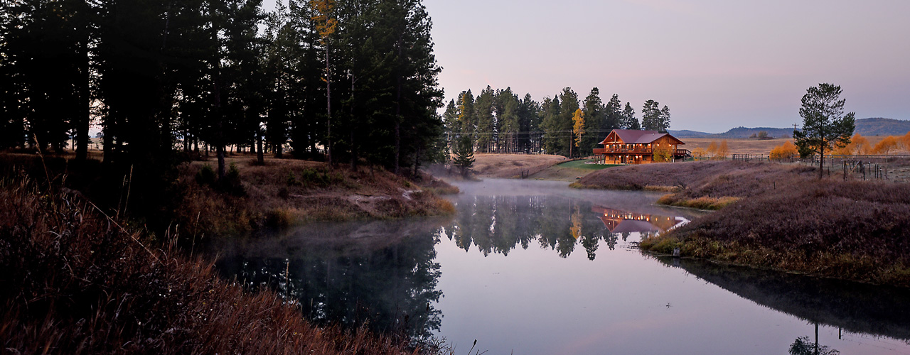 River View Lodge on the Sitllwater River in Whitefish