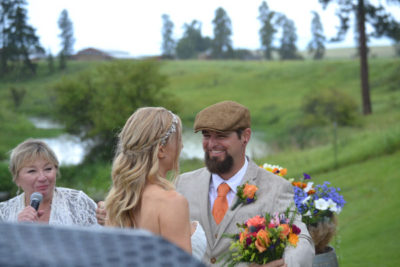 Weddings at River Meadow Ranch in Whitefish, Montana