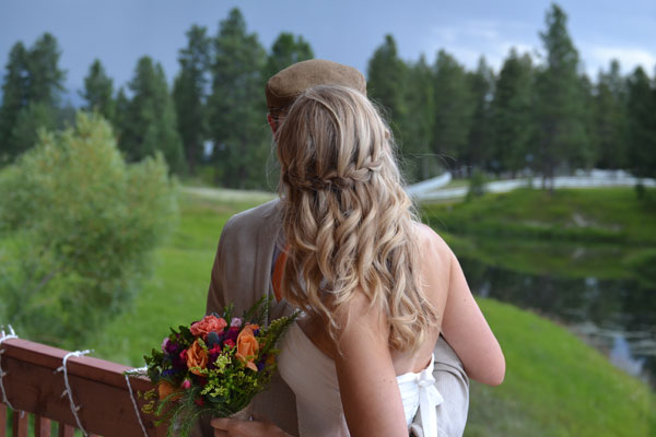 Weddings at a Whitefish Montana Lodge