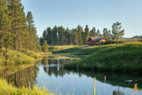 Stillwater River and River View Lodge in Whitefish