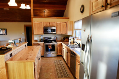 Vacation Home Kitchen, the River View Lodge