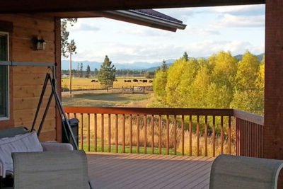 Mountain Views From River View Lodge