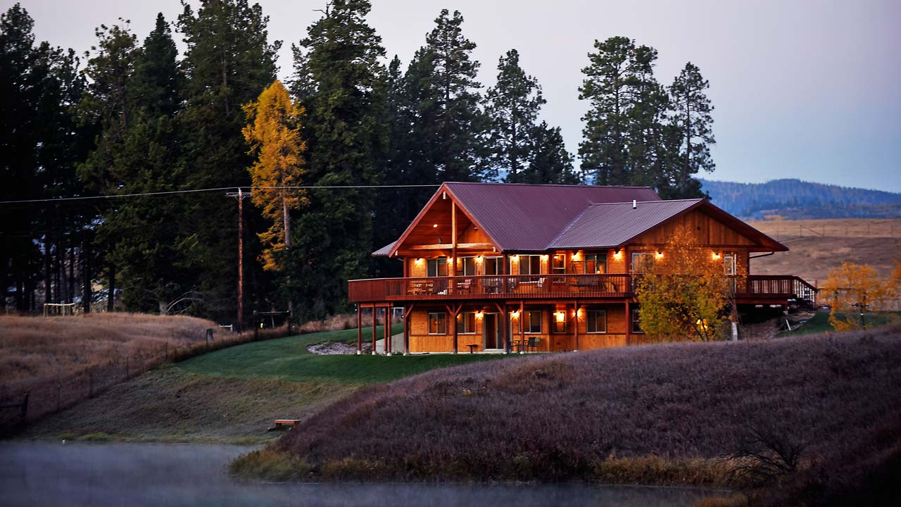 Whitefish Montana Vacation Rental River View Lodge