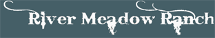 River Meadow Ranch Logo